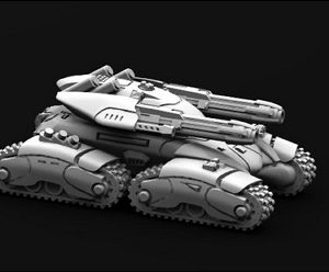 M123031 Maarghast Twin Heavy Plasma Guns 1