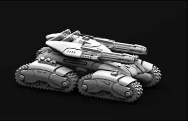 M123031 Maarghast Twin Heavy Plasma Guns 1