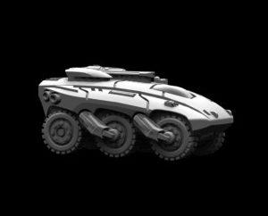 M123121 Ghizar Wheeled APC 1