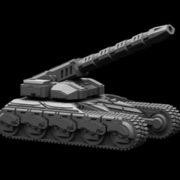M121034 Spiderblade E-M Artillery 2